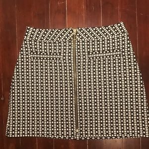 Express A-line mini skirt